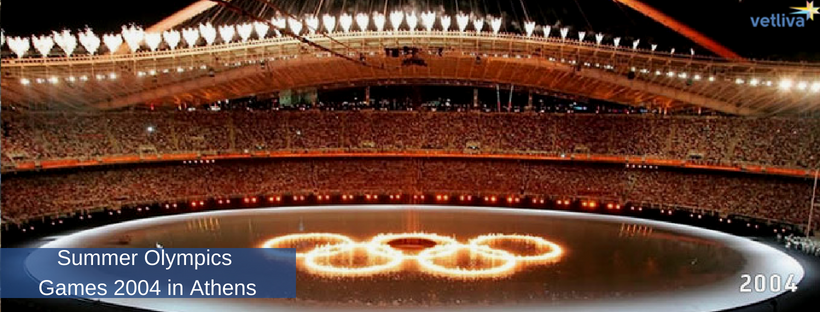 Summer Olympics Games 2004 in Athens