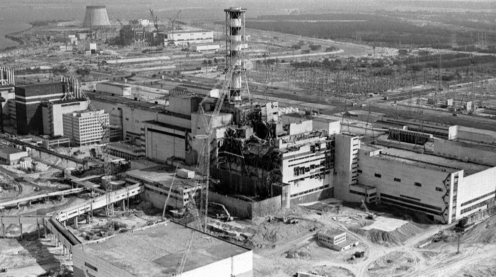 Chernobyl accident in 1986