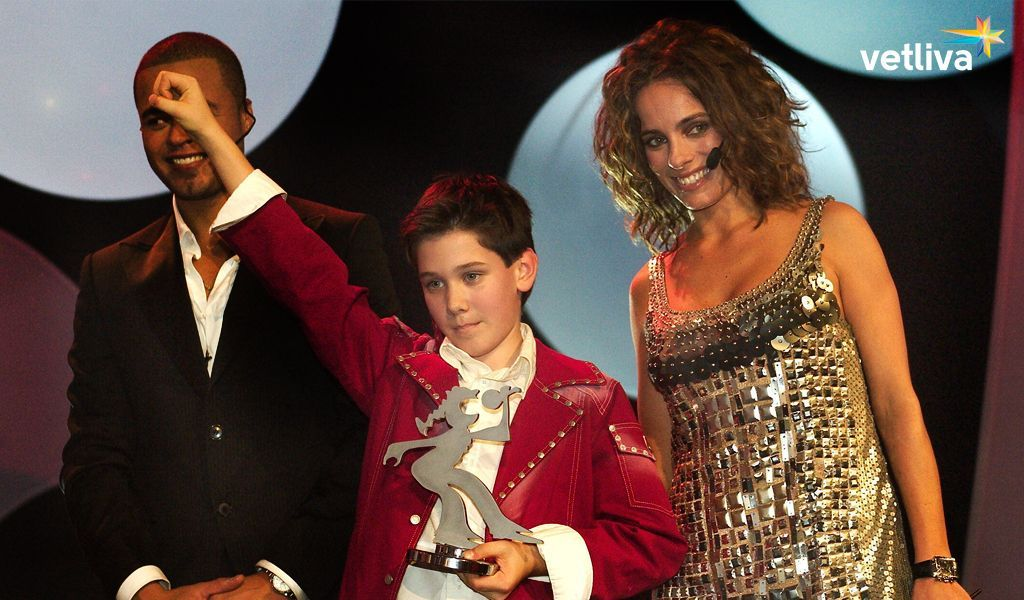 Dino Elushich — the winner of Junior Eurovision 2003