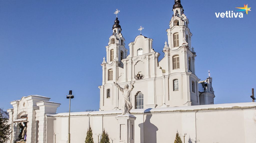 Religious place of Belarus