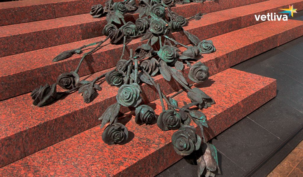 "Memorial ""Roses"" in Minsk"
