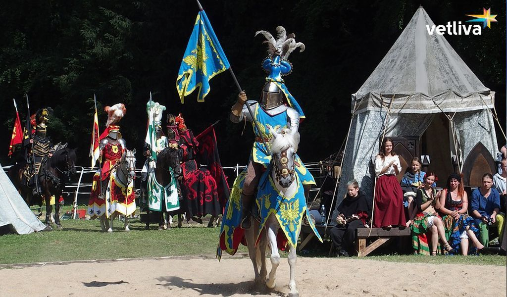 Festival of knightly culture in Belarus