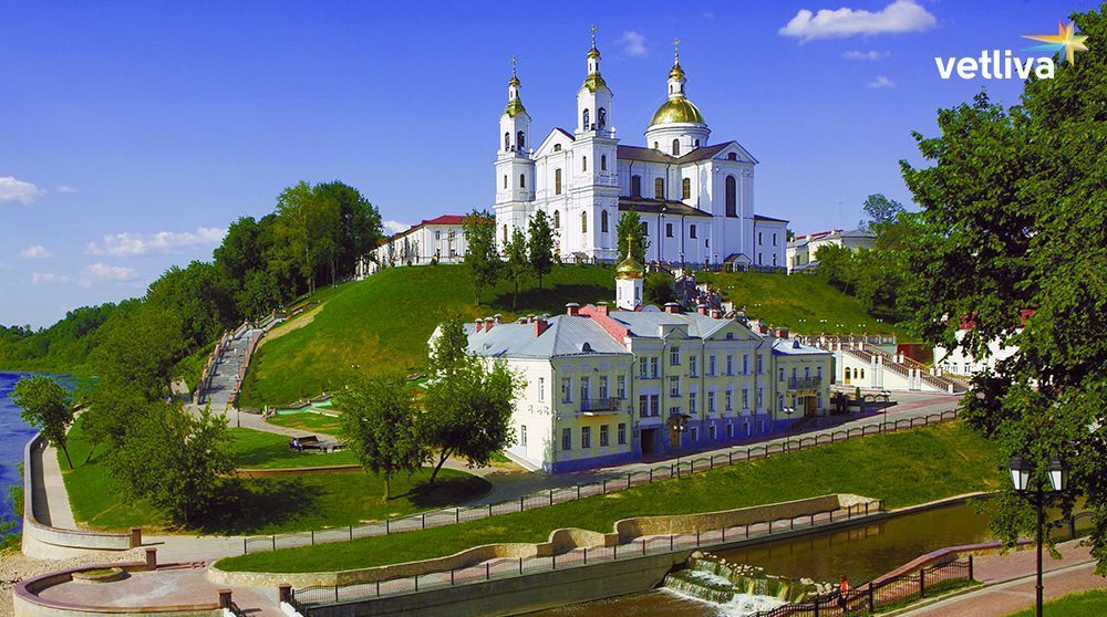 The city of Vitebsk in Belarus
