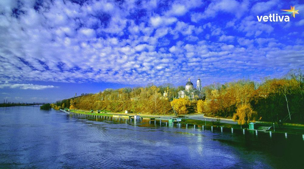 The city of Gomel in Belarus