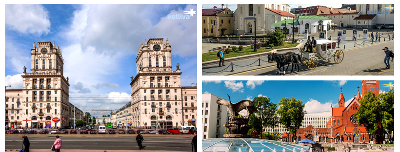 History and sights of Minsk