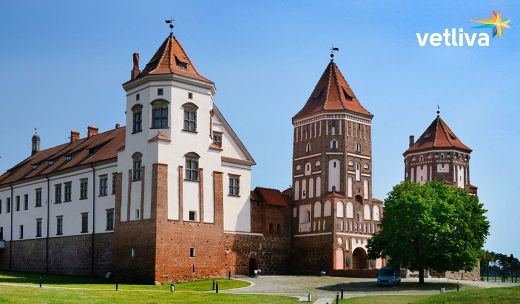 Castle in Mir, Belarus