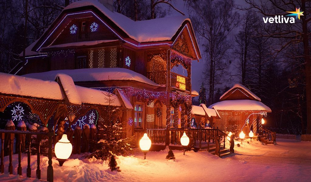 The residence of Grandfather Frost in Belarus