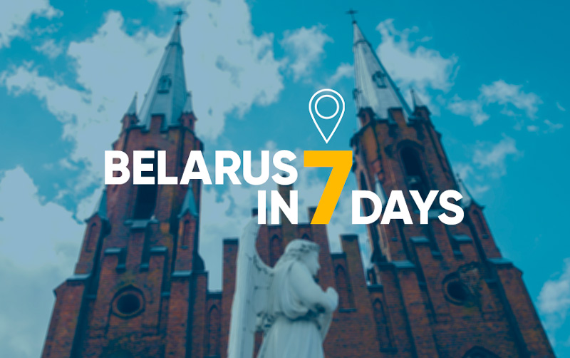 Belarus in 7 days of travel