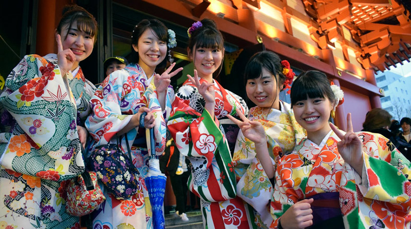 New Year traditions in Japan