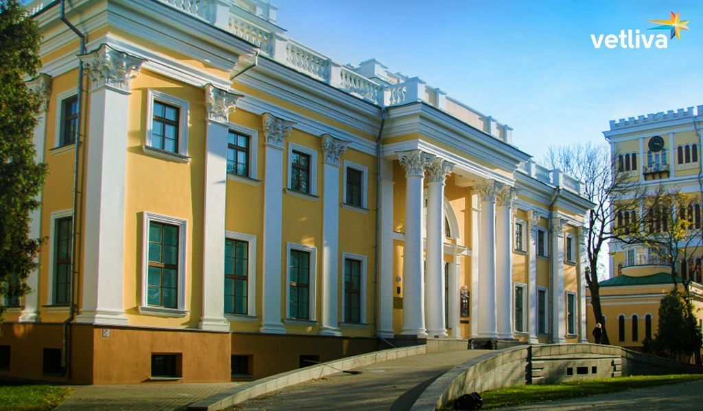 Gomel palace in Belarus