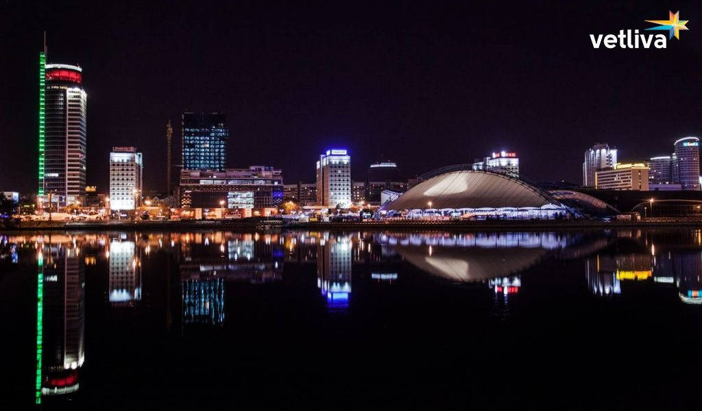 Evening Minsk is worth to see!