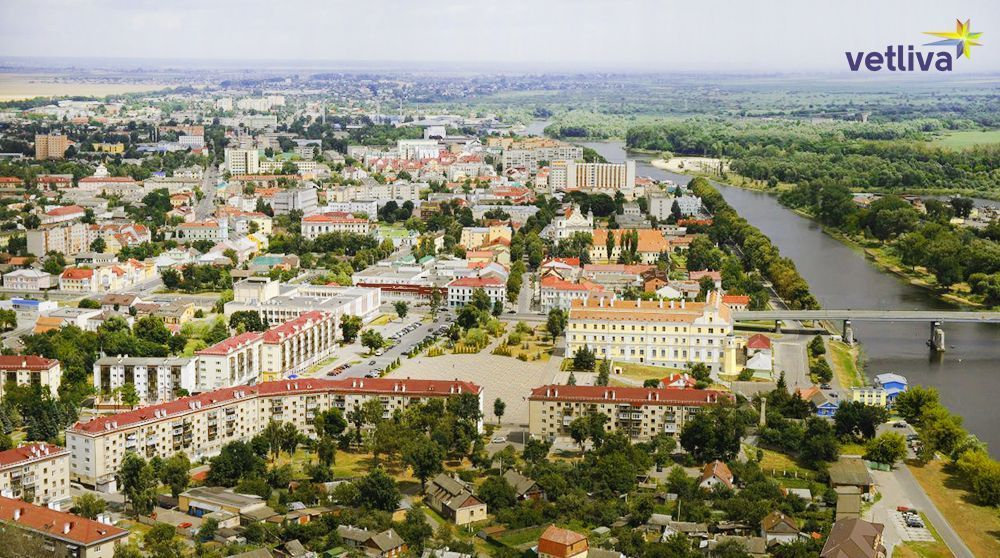 The city of Pinsk in Belarus