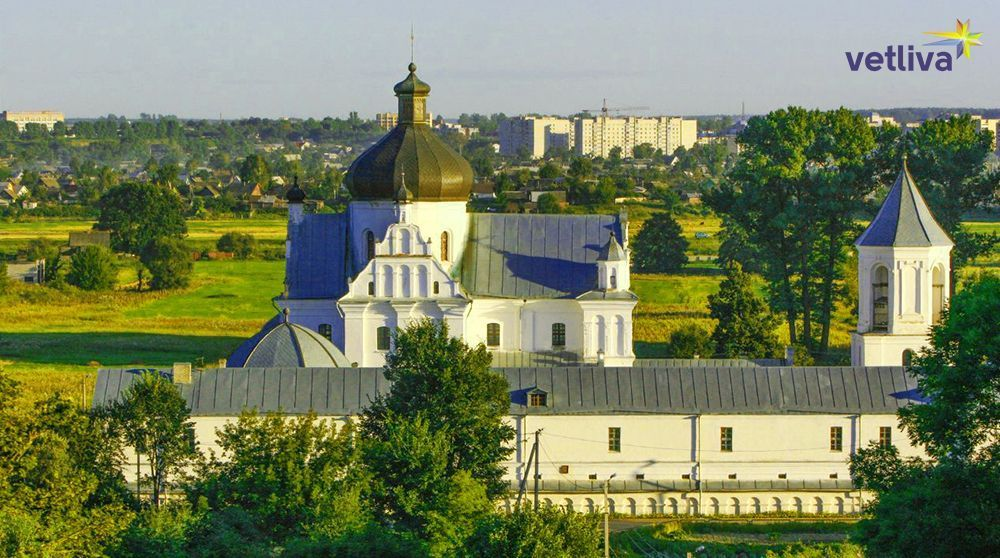 The city of Mogilev in Belarus
