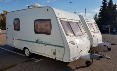 For II European Games in Minsk equip parking for mobile houses