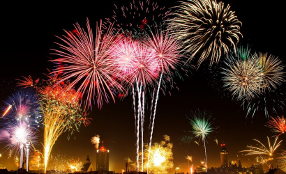 Where to walk and see the fireworks for the New year in Minsk?