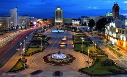 Minsk is the most popular holiday city on the weekend!