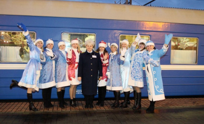 Winter cruise from Minsk to Belovezhskaya Pushcha on a New Year's train