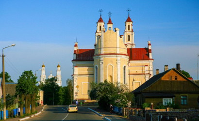 The history of Development of the Trinity Church in the town Glubokoe