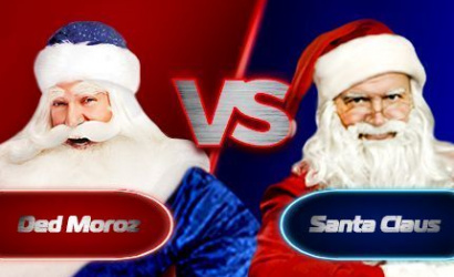 Santa Claus and Grandfather Frost: the miracle on New Year's eve