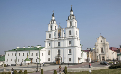 The Holy Spirit Cathedral in Minsk