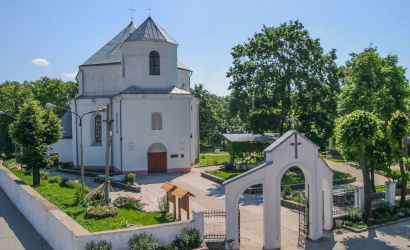 The Catholic Church of St. Michael the Archangel in Smorgon
