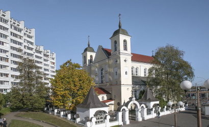 Saint Peter and Paul's Church in Minsk