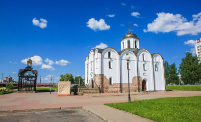 The Church of the Annunciation in Vitebsk