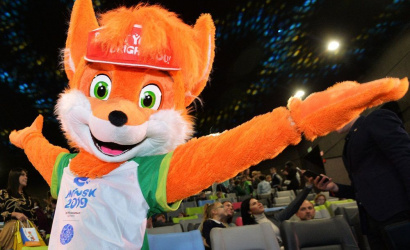 The symbol of the II European Games fox Lesik will flaunt in 6 points of Minsk