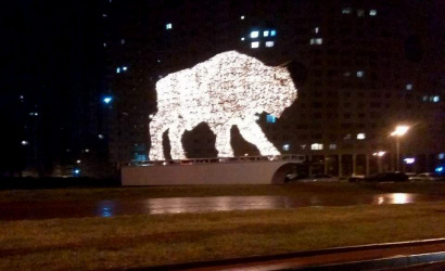 A new light composition will appear in Minsk