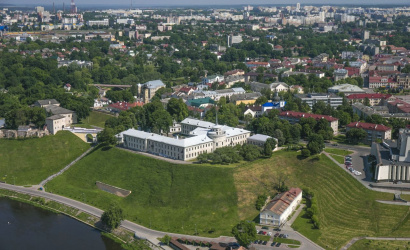 The New Castle in Grodno