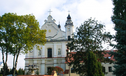 The Catholic Church of the Assumption of the Virgin Mary in Pinsk
