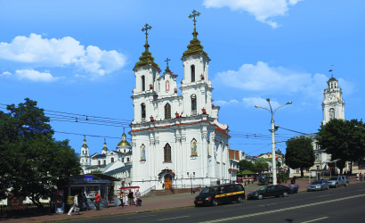 Holy Resurrection Church in Vitebsk